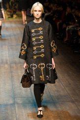 Harleth Kuusik - Dolce & Gabbana 2014 Sonbahar-Kış Koleksiyonu