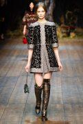Tanya Katysheva - Dolce & Gabbana 2014 Sonbahar-Kış Koleksiyonu
