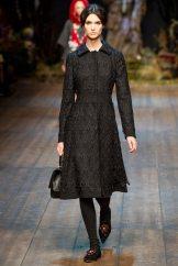Manon Leloup - Dolce & Gabbana 2014 Sonbahar-Kış Koleksiyonu