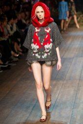 Nastya Sten - Dolce & Gabbana 2014 Sonbahar-Kış Koleksiyonu