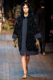 Pamela Bernier - Dolce & Gabbana 2014 Sonbahar-Kış Koleksiyonu