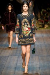 Antonina Vasylchenko - Dolce & Gabbana 2014 Sonbahar-Kış Koleksiyonu