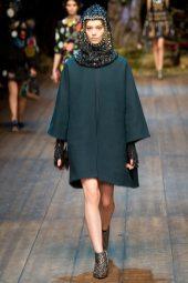 Ondria Hardin - Dolce & Gabbana 2014 Sonbahar-Kış Koleksiyonu