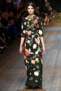 Giulia Manini - Dolce & Gabbana 2014 Sonbahar-Kış Koleksiyonu