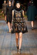 Valery Kaufman - Dolce & Gabbana 2014 Sonbahar-Kış Koleksiyonu