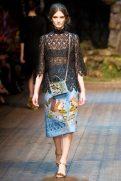Carly Moore - Dolce & Gabbana 2014 Sonbahar-Kış Koleksiyonu
