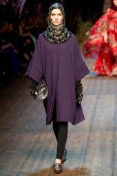 Manuela Frey - Dolce & Gabbana 2014 Sonbahar-Kış Koleksiyonu
