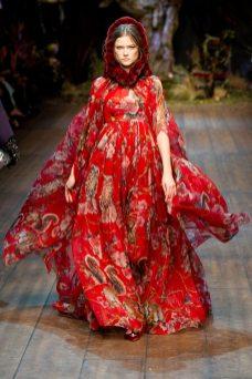 Kasia Struss - Dolce & Gabbana 2014 Sonbahar-Kış Koleksiyonu