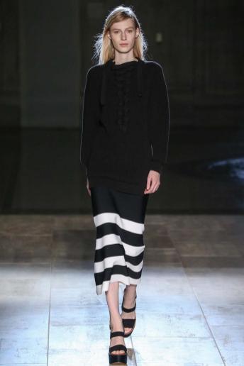 Julia Nobis - Victoria Beckham Spring 2015