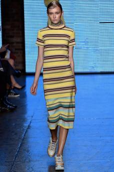 Anna Mellbin - DKNY Spring 2015