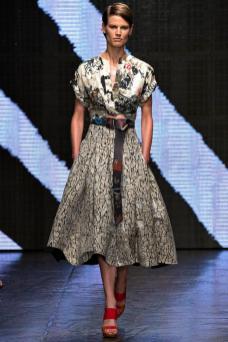 Saskia de Brauw - Donna Karan Spring 2015