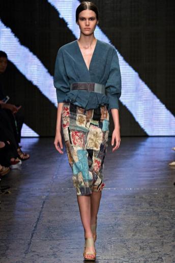Vanessa Moody - Donna Karan Spring 2015