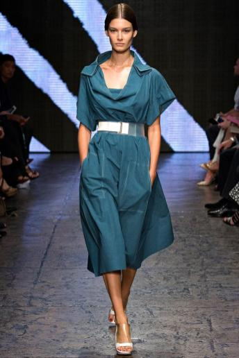 Ophelie Guillermand - Donna Karan Spring 2015