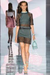 Julia Bergshoeff - Versace Spring 2015