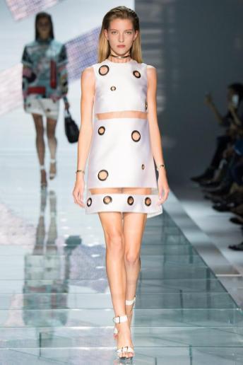 Elena Peter - Versace Spring 2015