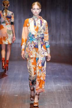 Daphne Groeneveld - Gucci Spring 2015