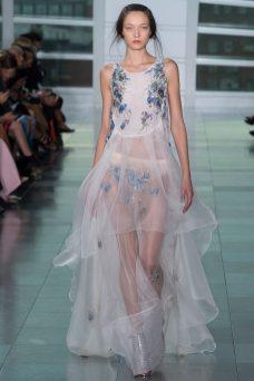 Yumi Lambert - Antonio Berardi Spring 2015