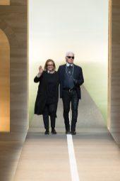 Silvia Venturini Fendi, Karl Lagerfeld - Fendi Spring 2015