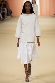 Leila Nda - Hermès Spring 2015