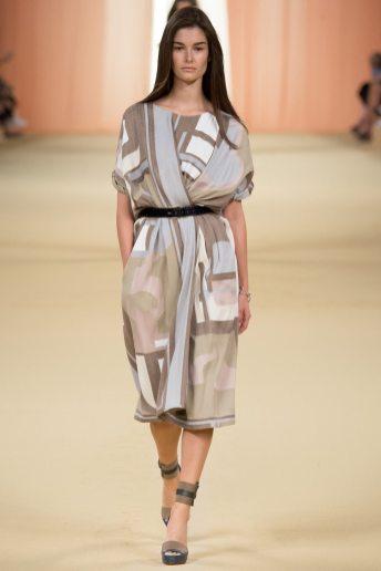 Ophelie Guillermand - Hermès Spring 2015