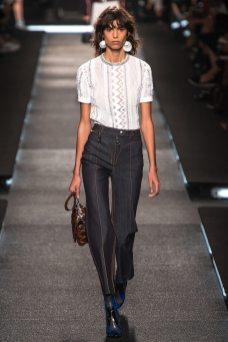 Mica Arganaraz - Louis Vuitton Spring 2015
