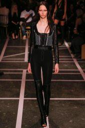 Waleska Gorczevski - Givenchy Spring 2015