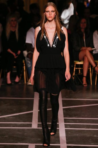 Hedvig Palm - Givenchy Spring 2015
