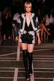Edie Campbell - Givenchy Spring 2015