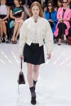 Julia Hafstrom - Christian Dior Spring 2015