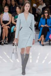 Anika Cholewa - Christian Dior Spring 2015