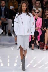 Malaika Firth - Christian Dior Spring 2015