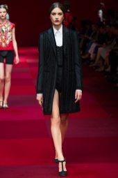 Ronja Furrer - Dolce & Gabbana Spring 2015 Koleksiyonu