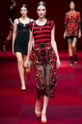 Morta Kontrimaite - Dolce & Gabbana Spring 2015 Koleksiyonu
