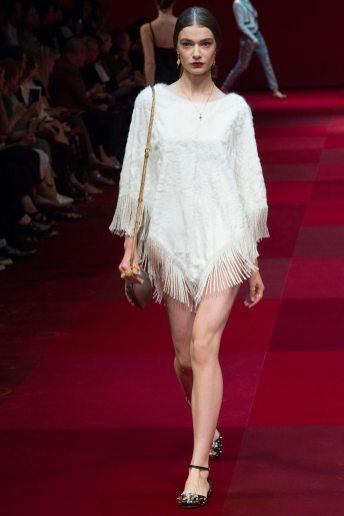 Adrianna Zajdler - Dolce & Gabbana Spring 2015 Koleksiyonu
