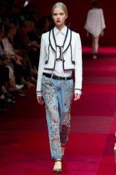 Sasha Luss - Dolce & Gabbana Spring 2015 Koleksiyonu