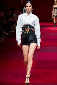 Mijo Mihaljcic - Dolce & Gabbana Spring 2015 Koleksiyonu