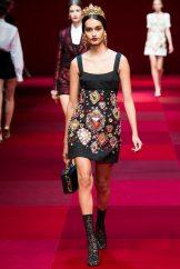 Gizele Oliveira - Dolce & Gabbana Spring 2015 Koleksiyonu