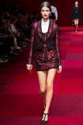 Ophelie Guillermand - Dolce & Gabbana Spring 2015 Koleksiyonu