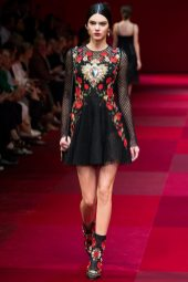 Kendall Jenner - Dolce & Gabbana Spring 2015 Koleksiyonu