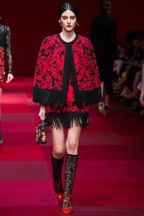 Serena Archetti - Dolce & Gabbana Spring 2015 Koleksiyonu