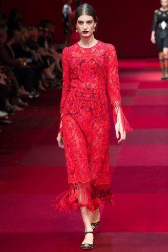 Elodia Prieto - Dolce & Gabbana Spring 2015 Koleksiyonu