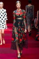 Alexandra Elizabeth - Dolce & Gabbana Spring 2015 Koleksiyonu