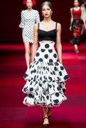 Samantha Gradoville - Dolce & Gabbana Spring 2015 Koleksiyonu