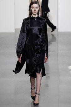 Anna Kazannik - Calvin Klein Collection Fall 2016 Ready to Wear
