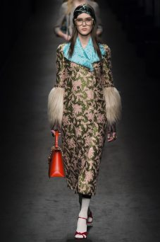 Alina Pavlushova - Gucci Fall 2016 Ready-to-Wear