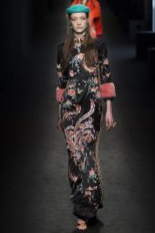 Yumi Lambert - Gucci Fall 2016 Ready-to-Wear