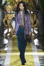 Julee Huang - Roberto Cavalli Fall 2016 Ready-to-Wear