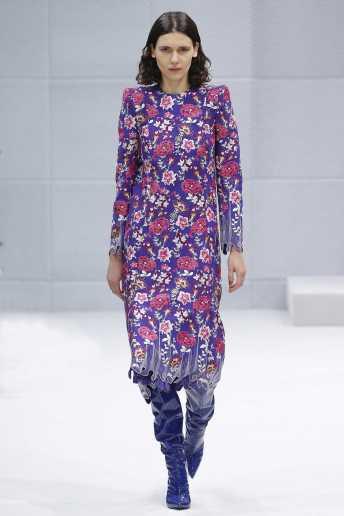 Iana Godnia - Balenciaga Fall 2016 Ready-to-Wear