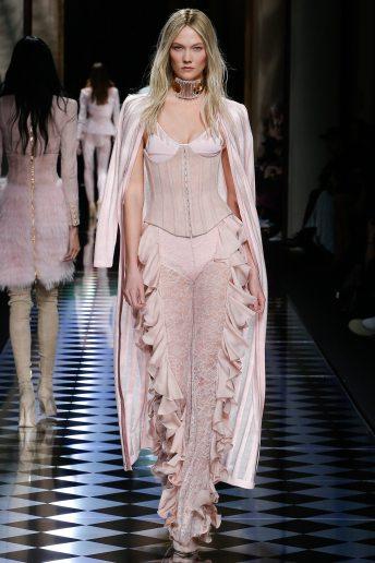 Karlie Kloss - Balmain Fall 2016 Ready-to-Wear