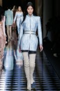 Ming Xi - Balmain Fall 2016 Ready-to-Wear
